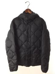 10AW/QUILTED PUFFY DOWN JKT/ダウンジャケット/M/ナイロン/BLK
