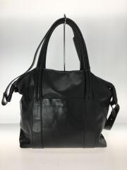SX8934/15AW/Black Calf Sailor Bag/トートバッグ/レザー/BLK/⑪