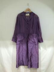 Sheer Shirts Gown/長袖シャツ/38/ナイロン/PUP/12010006