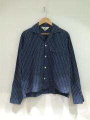 17SS/BRICK Check GIGOLO Shirt/長袖シャツ/2/BLU/17S11