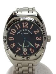 TRANS AMERICA 2000SCP/トランスアメリカ/自動巻腕時計/BLK/SLV