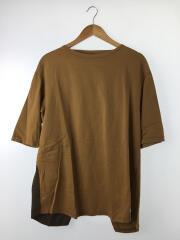 B&Y別注/バックデザイン ビッグシルエットT/ボートネックTシャツ/FREE/BEG/KHK