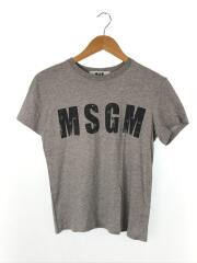 MSGMロゴ Tシャツ/M/コットン/GRY/2042MDM156