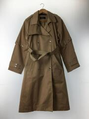 G-ACIR-NEW DOUBLE BREASTED TRENCH COAT/トレンチコート/XS/コットン/BEG