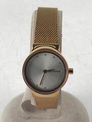 FREJA/フレジャ/クォーツ腕時計/アナログ/ステンレス/SLV/GLD/SKW2665