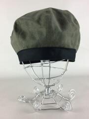 麻綿ベレー帽/FREE/リネンコットン/KHK