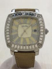 WF7A024SD/クォーツ腕時計/アナログ/GLD
