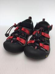 NEWPORT H2/キッズ靴/21cm/サンダル/ナイロン/ブラック/1014258