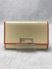 3つ折り財布/PVC/CRM/総柄