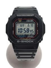 GW-M5610-1JF/ソーラー腕時計・G-SHOCK/デジタル/BLK