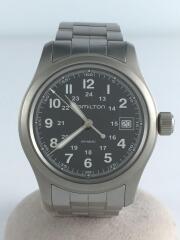 KHAKI FIELD/クォーツ腕時計/アナログ/ステンレス/H682010