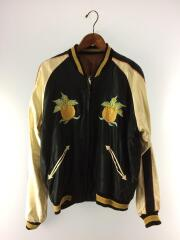 SOUVENIR JACKET/HONOLULU×DRAGON/スカジャン/XL/--/BLK/TT13001