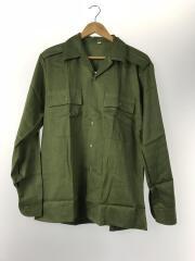 ハンガリー軍/長袖シャツ/40/コットン/KHK/vintage/OLD/軍物