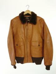 フライトジャケット/ブルゾン/42/レザー/CML/山羊革/AN6552/レプリカ/メンズ