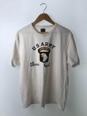 Tシャツ/42/コットン/WHT/AIRBORNE