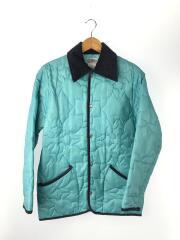キルティングジャケット/XS/ポリエステル/BLU/ブルー