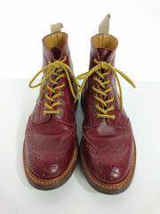 ブーツ/UK7/BRD/レザー/×A BATHING APE/MALTON