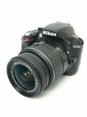 デジタル一眼カメラ D3300 ダブルズームキット [ブラック]