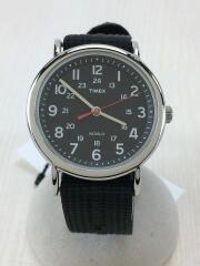 タイメックス/クォーツ腕時計/アナログ/BLK
