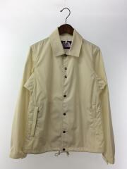 コーチジャケット/ナイロンジャケット/S/ナイロン/WHT/65/35 Coaches Jacket