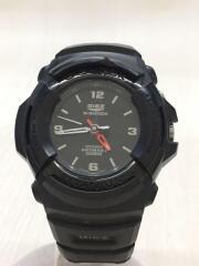 クォーツ腕時計/G-SHOCK/GIEZ/アナログ/BLK/GS-500D-1A/キズ有