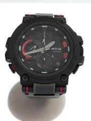 ソーラー腕時計/G-SHOCK/MT-G/アナログ/RED/BLK/MTG-B1000XBD
