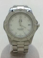 アクアレーサー/WAF1115/クォーツ腕時計/アナログ/ステンレス/シルバー/タグホイヤー/ダイバーズ AQUA RACER  ダイヤベゼル