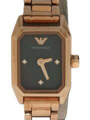 AR-11247/クォーツ腕時計/アナログ/ステンレス/ゴールド/ブラック/エンポリオアルマーニ