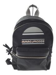 MEDIUM BACKPACK/M0014035ミディアムバックパック/リュック/ナイロン/ブラック/ロゴ