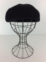 デコー/ベレー帽/フリーサイズ/ウール/ブラック