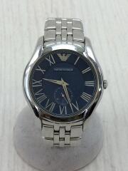 クォーツ腕時計/アナログ/ステンレス/BLU/AR-1789