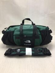 18AW/leather Mountain Waist Bag/2WAY/GRN/NF0A3VJA