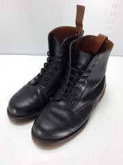 ドクターマーチン/ブーツ/UK7/ブラック/レザー/8ホールブーツ/ソール減り有
