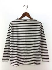セントジェームス/バスクシャツ/長袖Tシャツ/XS/コットン/ホワイト/ブラック/ボーダー