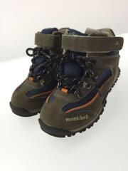 モンベル/キッズ靴/19cm/ブーツ/KHK/391618352