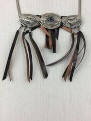 トーガプルラ/Metal western necklace/メタルウエスタンネックレス/カラーストーン/シルバー