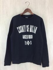 MARCELO BURLON COUNTY OF MILAN/スウェット/XS/コットン/BLK