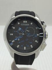ソーラー腕時計/W770MV/W770-S111552/アナログ/ラバー/BLK/BLK/Bluetooth