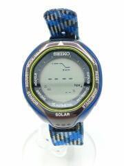 ソーラー腕時計/デジタル/S822-00A0