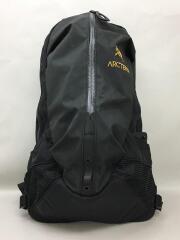 ARRO22/リュック/ナイロン/BLK/04t-0899906/背中側下にダメージ有