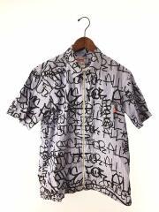 半袖シャツ/M/コットン/BLU/S1FW18/×COMME des GARCONS SHIRT