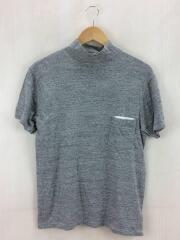 ポケット/Tシャツ/M/コットン/GRY/襟汚れ有