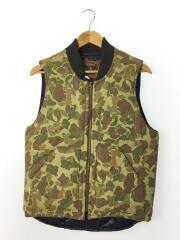 FORTY FINE CLOTHING/ダウンベスト/2/コットン/KHK/カモフラ/