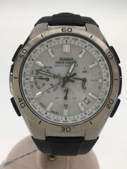 腕時計/アナログ/ラバー/WHT/BLK/WVQ-M410