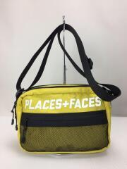 PLACES+FACES/ショルダーバッグ/ナイロン/YLW/汚れ有