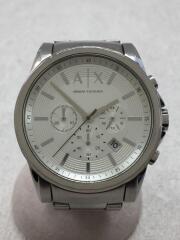 クォーツ腕時計/アナログ/ステンレス/SLV/SLV/AX2058