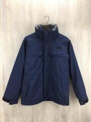 Makalu Triclimate Jacket/ナイロンジャケット/M/ナイロン/NVY/無地/NP61637/マカルトリクライメイトジャケット