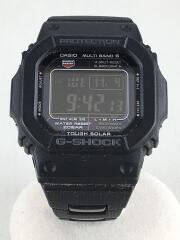 腕時計/デジタル/ステンレス/BLK/GW-M5610BC