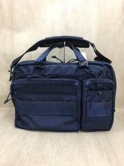 ×BEAMS/ブリーフケース/ナイロン/NVY/USA製/ビジネスバッグ ショルダーバッグ ネオB4ライナー