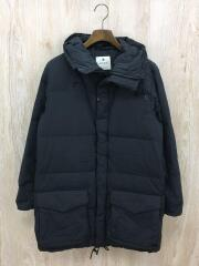 Recycled Nylon Ripstop Down Coat/S/ナイロン/BLK